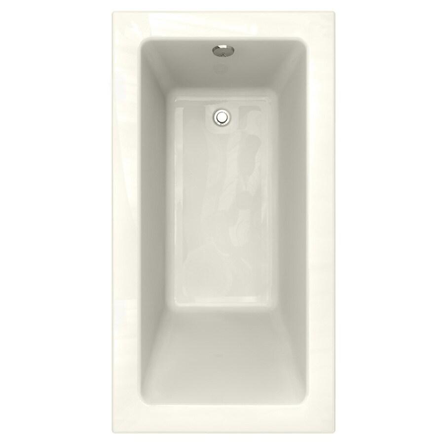 American Standard Studio Acrylic Rectangular Drop-in Bathtub with Reversible Drain (Common: 32-in x 60-in; Actual: 22.5-in x 32-in x 60-in)