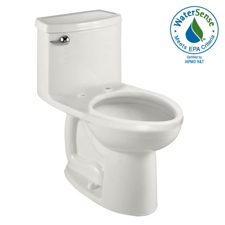 American Standard Cadet 3 White 1.28-GPF (4.85-LPF) 12-in Rough-In WaterSense Elongated 1-Piece Comfort Height Toilet