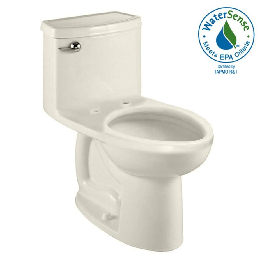 American Standard Cadet 3 Linen 1.28-GPF (4.85-LPF) 12-in Rough-In WaterSense Elongated 1-Piece Comfort Height Toilet