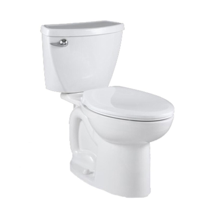 American Standard Saver White 1.28-GPF/4.85-LPF 12-in Rough-in Watersense Elongated 2-Piece Standard Height Toilet
