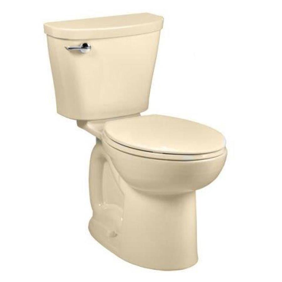 American Standard Saver Bone 1.28 GPF (4.85 LPF) 12 Rough-in WaterSense Elongated 2-Piece Comfort Height Toilet