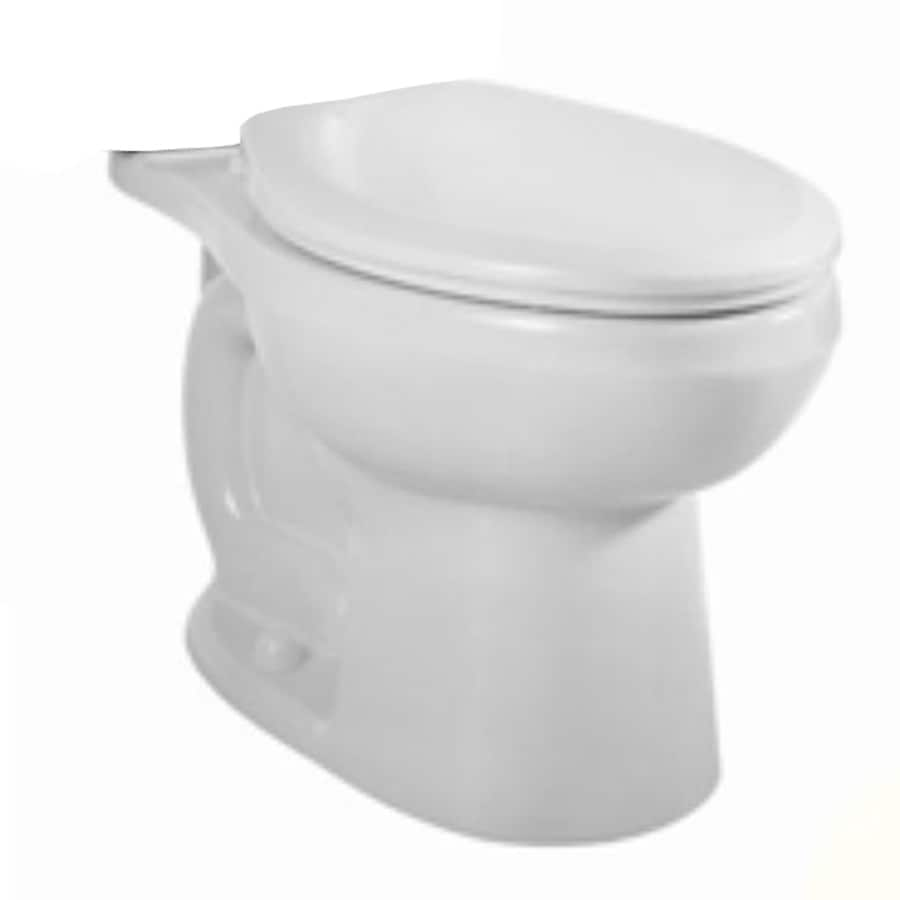 American Standard H2Option Chair Height White 12-in Rough-In Round Toilet Bowl