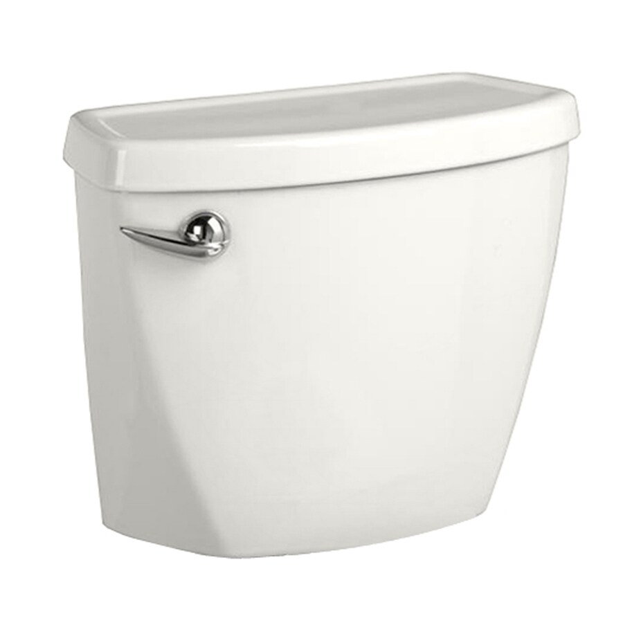 American Standard Baby Devoro White 1.28-GPF (4.85-LPF) 10-in Rough-In Single-Flush High-Efficiency Toilet Tank