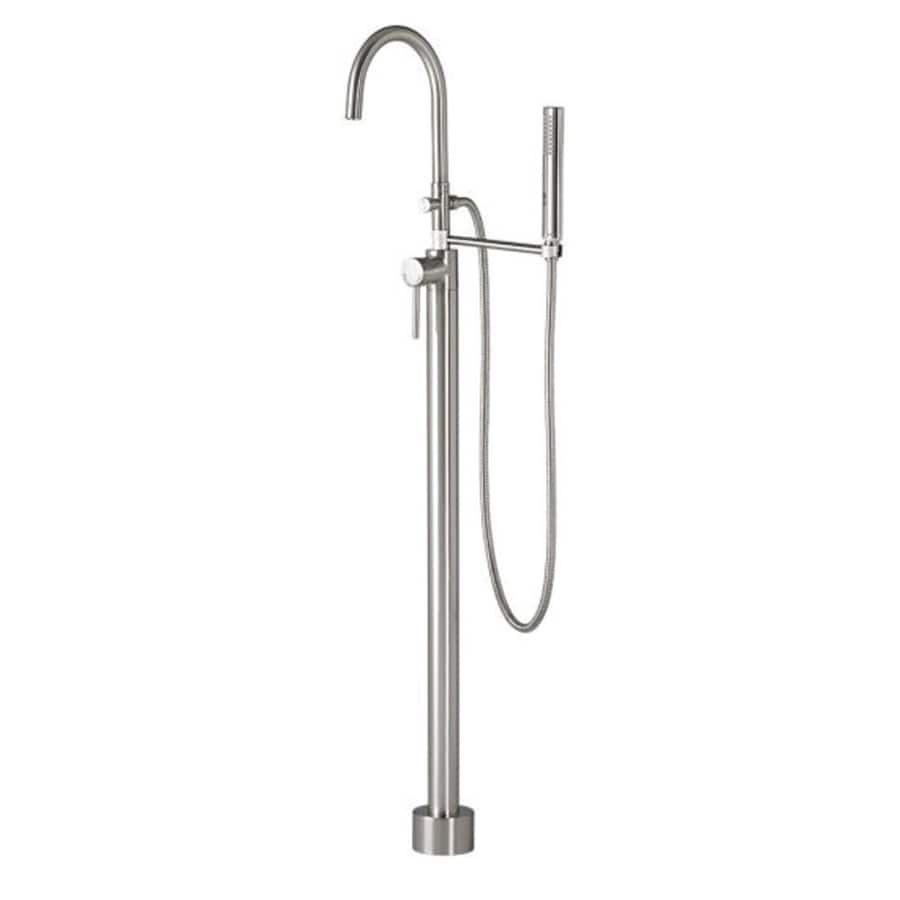 Chrome 1-Handle Fixed Freestanding Bathtub Faucet Product Photo