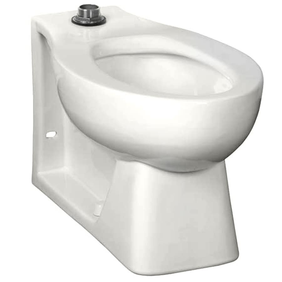 American Standard Neolo Standard Height White 12-in Rough-In Pressure Assist Elongated Toilet Bowl
