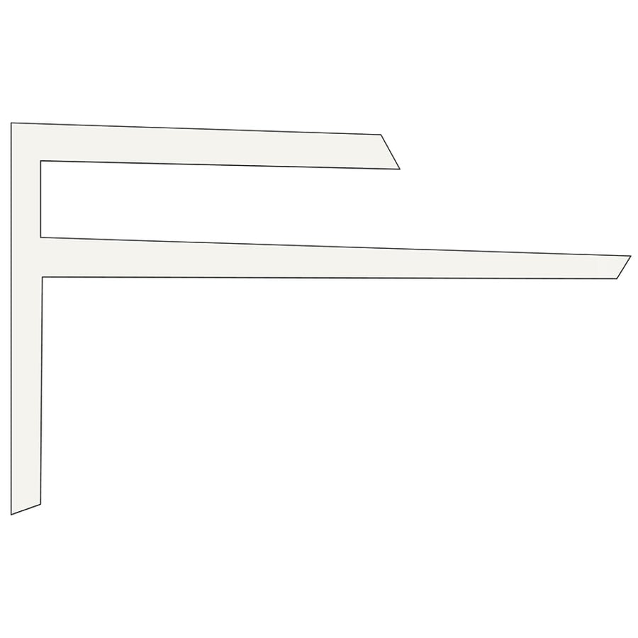 Sequentia 0.65-in x 10-ft Vinyl Outside Corner Wall Panel Moulding