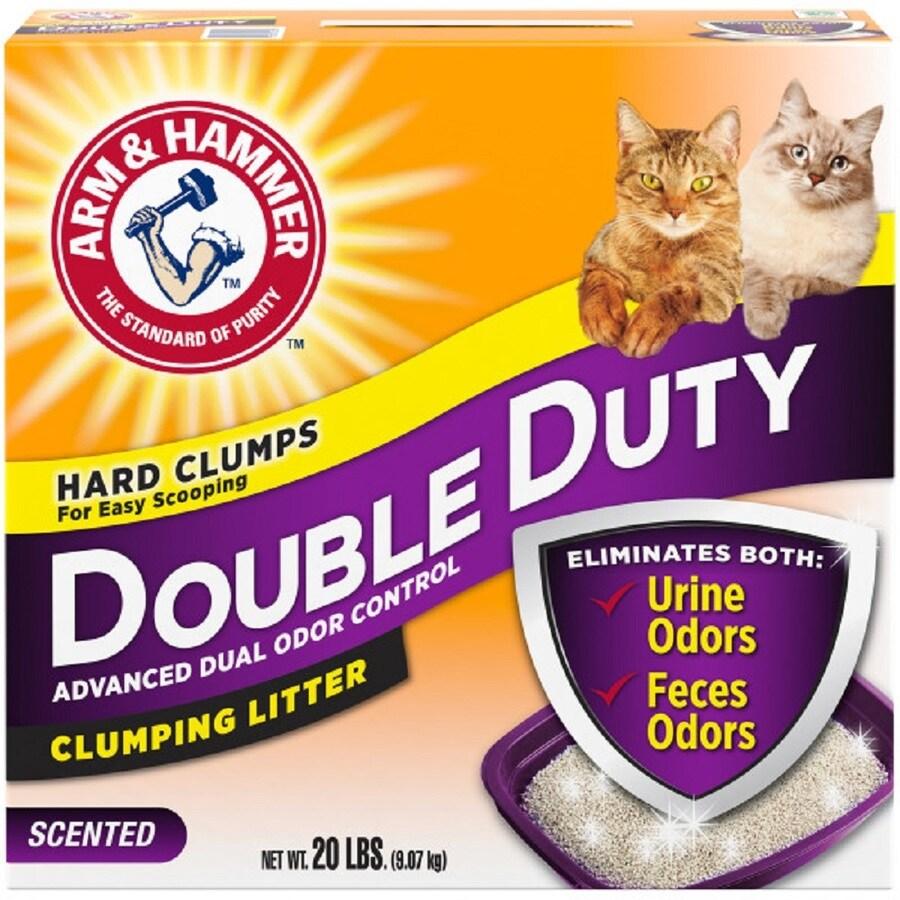 ARM & HAMMER 20-lbs Blend Cat Litter for Multiple Cats