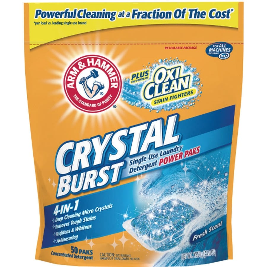 ARM & HAMMER 50-Count Laundry Detergent