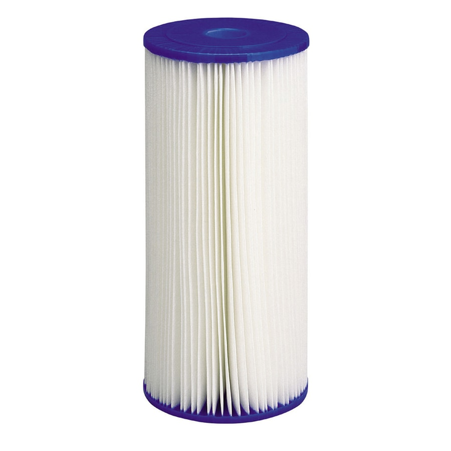 Shop culligan drop in for large whole house filtration replacement filter at - Lowes water filter under sink ...