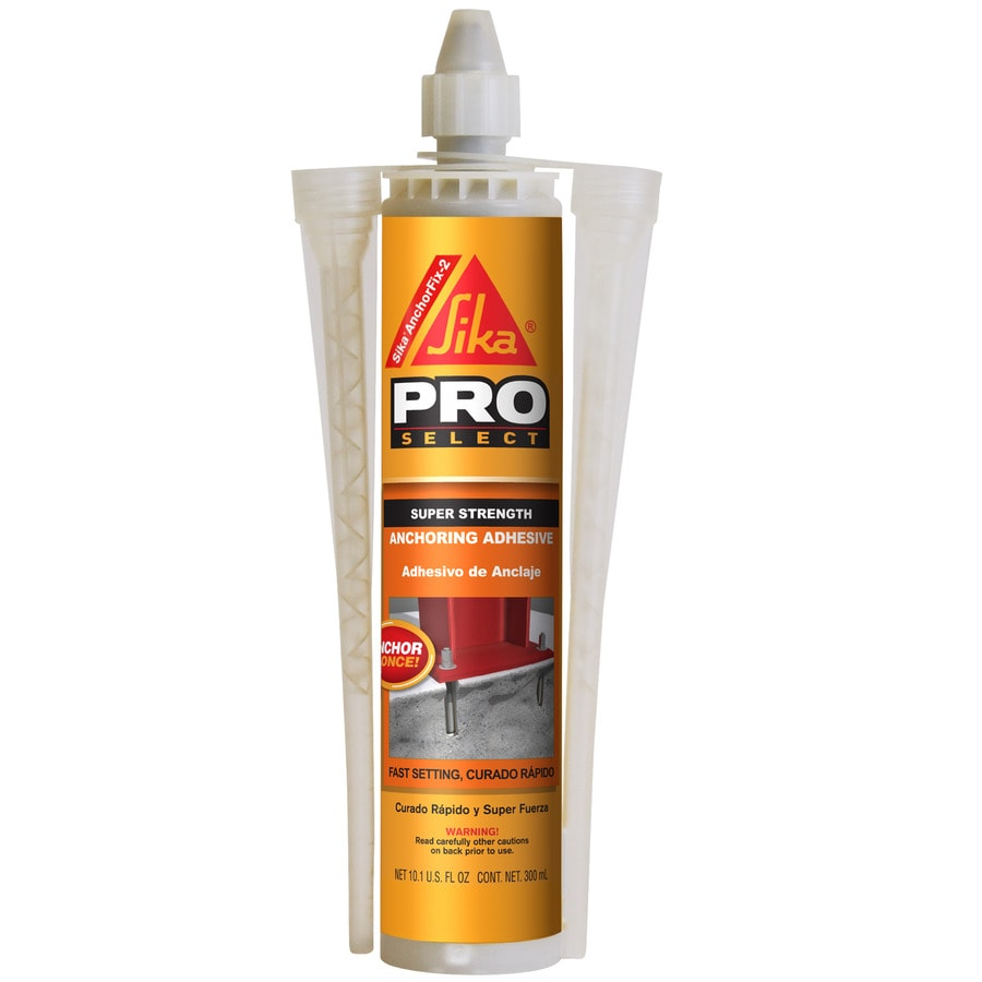 Shop Sika Gray Epoxy Adhesive At Lowes Com