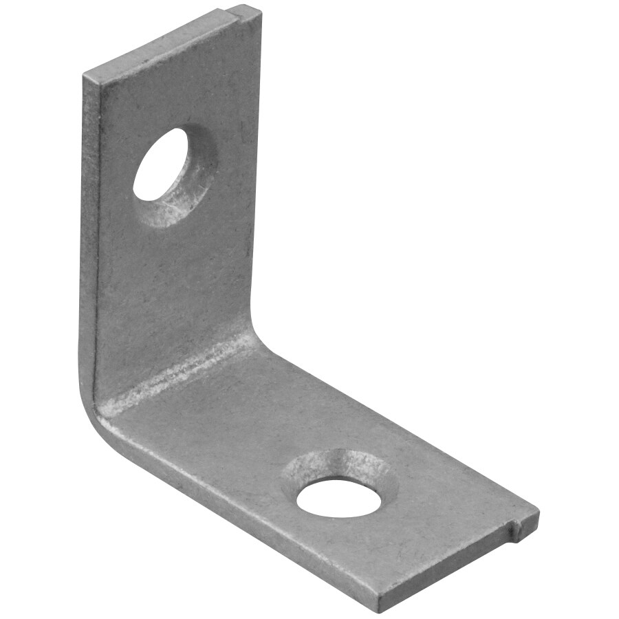 Stanley-National Hardware 2-Pack 1-in Metallic Corner Braces