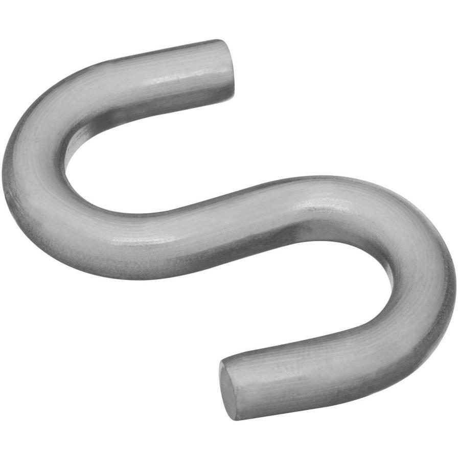Stanley-National Hardware 2-Pack Stainless Steel S Hooks