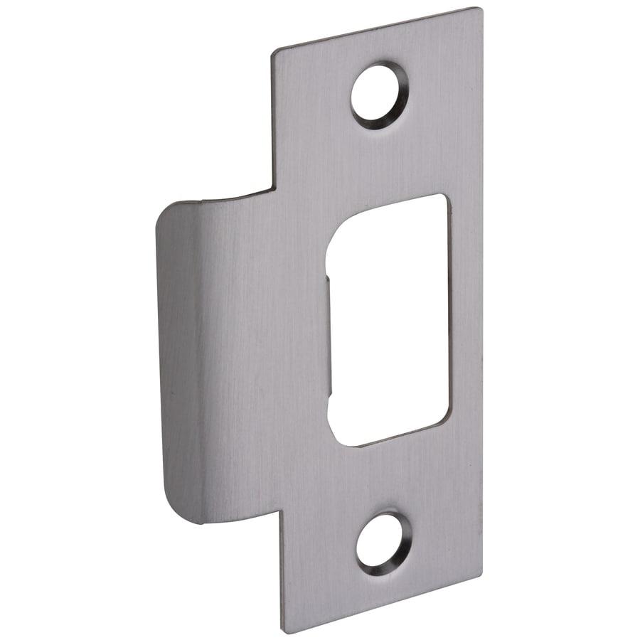 shop gatehouse steel entry door standard t strike plate at. Black Bedroom Furniture Sets. Home Design Ideas