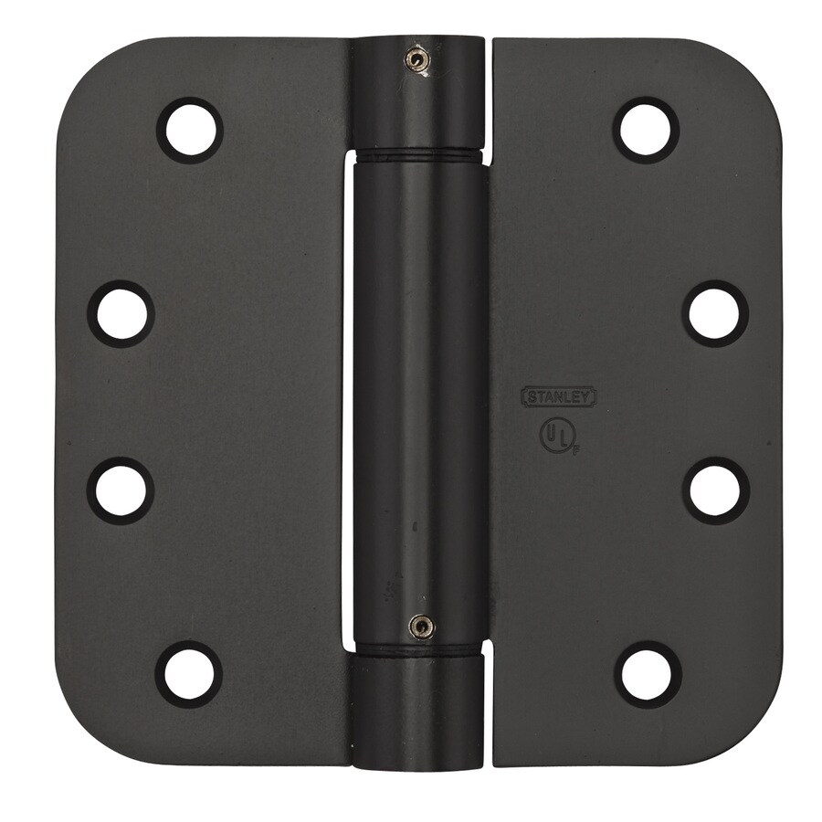 Stanley-National Hardware 4-in H Oil-Rubbed Bronze Interior/Exterior Mortise Door Hinge