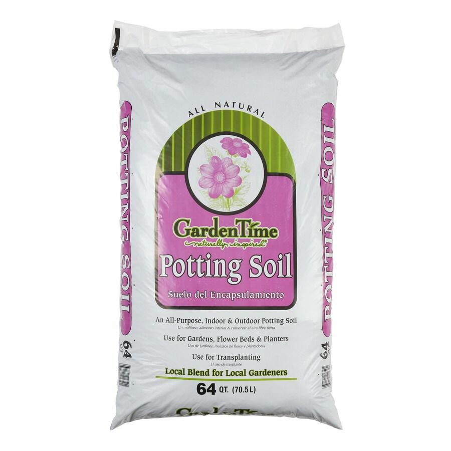 Garden Time 64-Quart Potting Soil