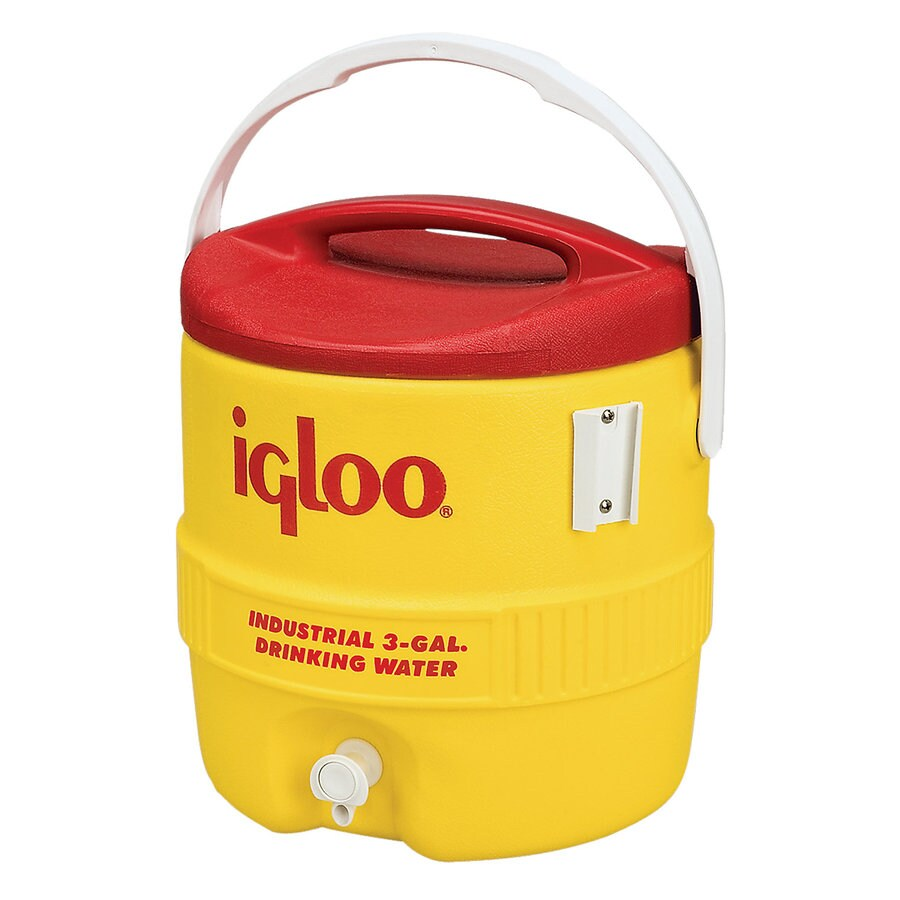 Igloo 3-Gallon Yellow Poly Beverage Dispenser