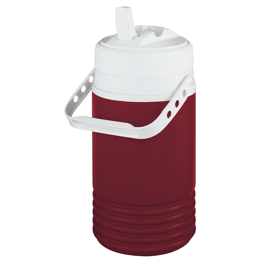 Igloo 0.5-Gallon Red Poly Beverage Dispenser