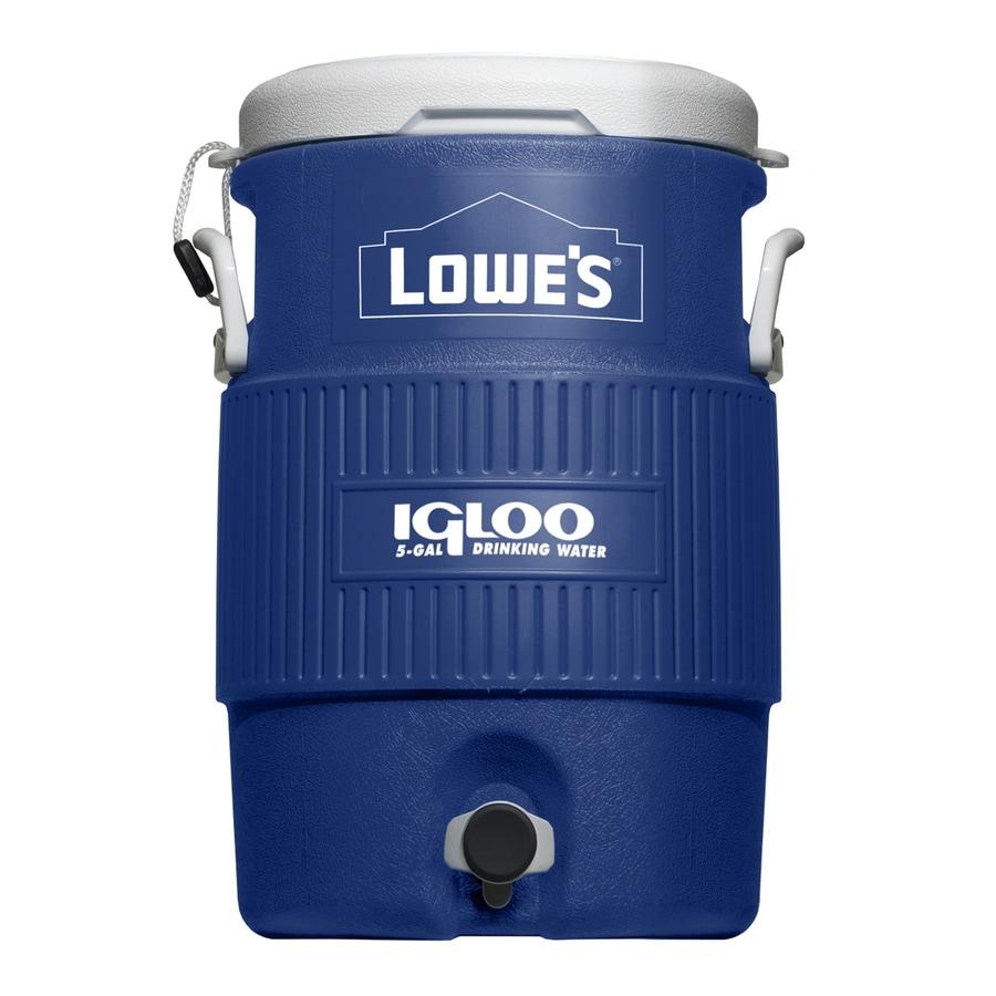 Igloo 5-Gallon Blue Poly Beverage Dispenser