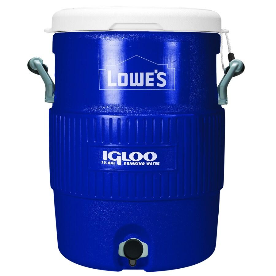 Igloo 10-Gallon Plastic Beverage Cooler