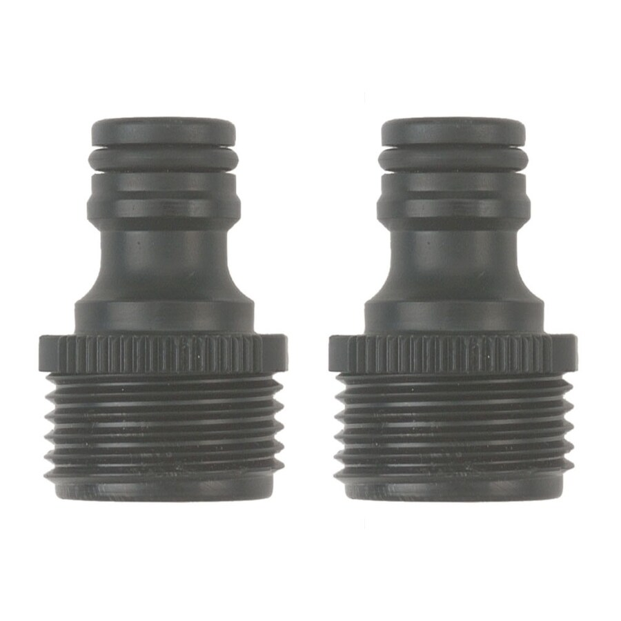Gilmour Two Poly Male Hose End Quick Connectors