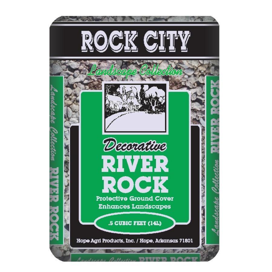 Rock City 0.5-cu ft River Rock