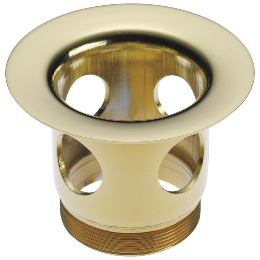 Delta Polished Brass Drain Flange