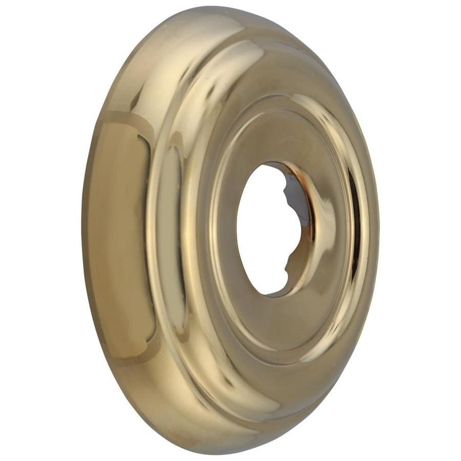Delta Shower Flange Polished Brass