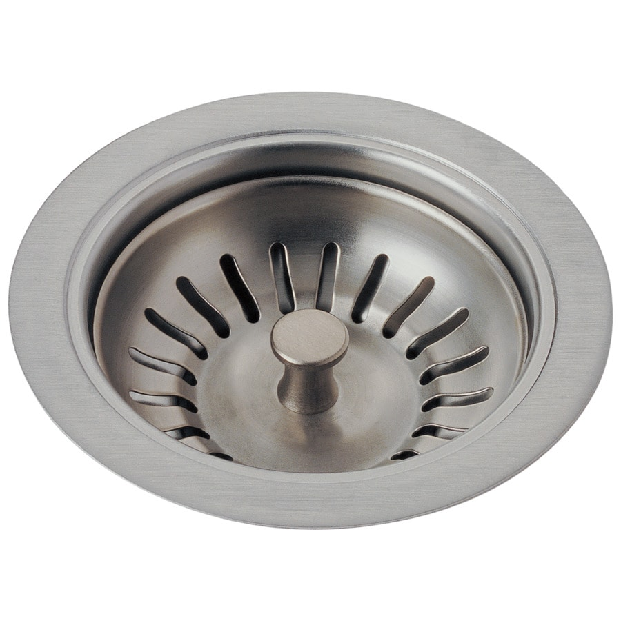 Delta 3.75-in Stainless Stainless Steel Kitchen Sink Strainer Basket