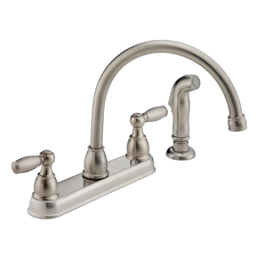 peerless kitchen faucet reviews peerless faucets two handle wall mounted kitchen faucet