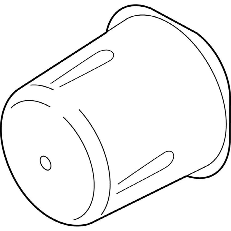 Delta Standard Hard Plastic Faucet Cover