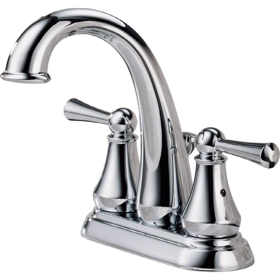shop delta lewiston chrome 2 handle 4 in centerset enchanting delta cassidy faucet home depot faucets kitchen