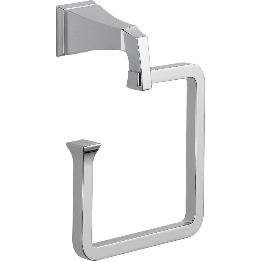 Delta Dryden Chrome Wall-Mount Towel Ring