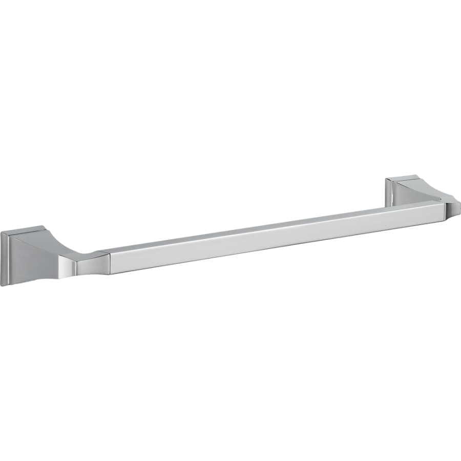 Delta Dryden Chrome Single Towel Bar (Common: 18-in; Actual: 19.75-in)