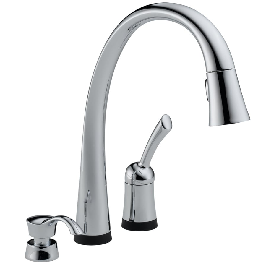 Single Handle Pull Down Kitchen Faucet With Toucho Technology