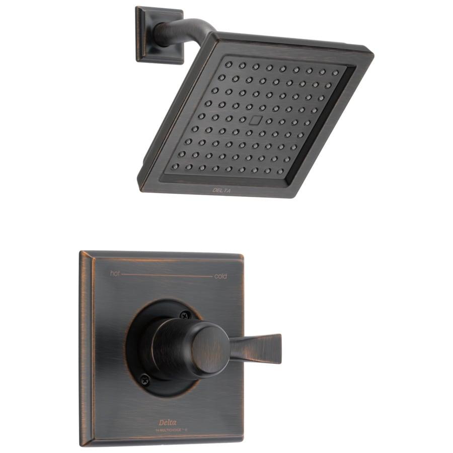 Shop Delta Dryden Venetian Bronze 1-Handle Shower Faucet ...