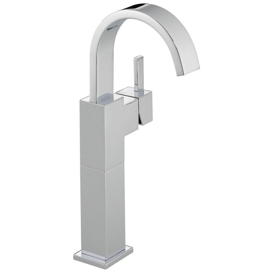 Delta Vero Chrome 1-Handle Single Hole WaterSense Bathroom Faucet