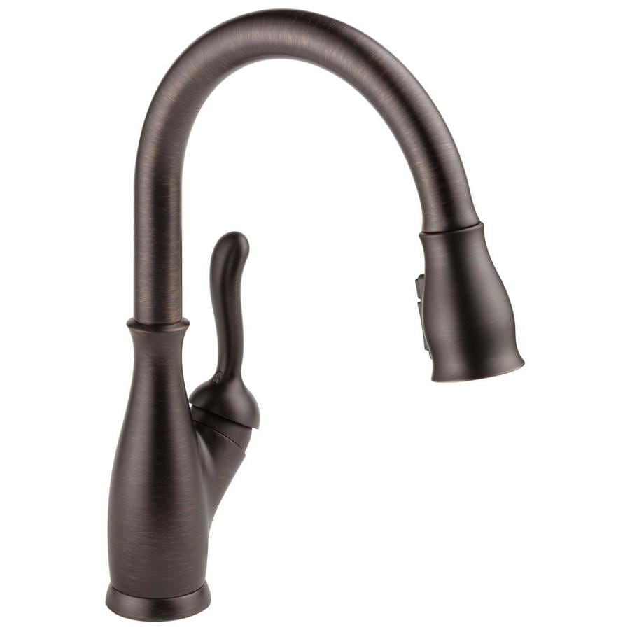 Shop Delta Leland Venetian Bronze 1 Handle Pull Down