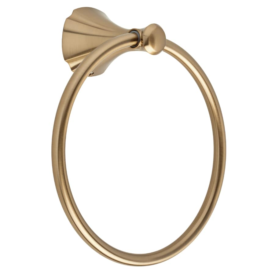 Delta Addison Champagne Bronze Wall-Mount Towel Ring