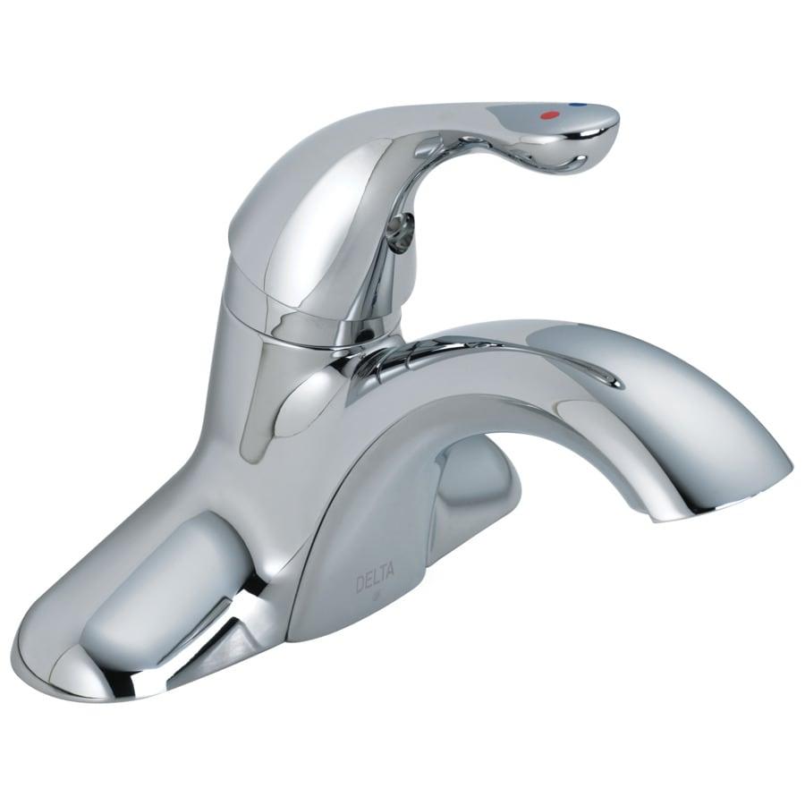 Shop Delta Chrome 1 Handle Watersense Bathroom Sink Faucet