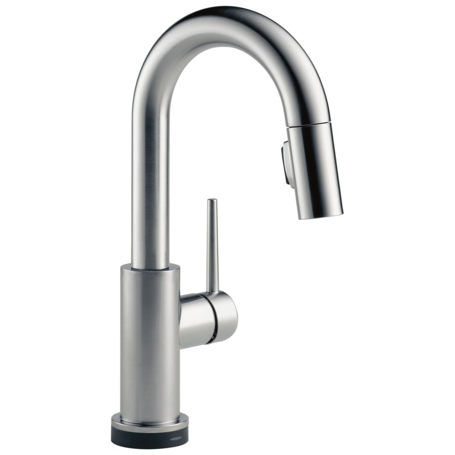Touch Faucet Kitchen: Shop Delta Trinsic Touch Arctic Stainless 1-Handle-Handle
