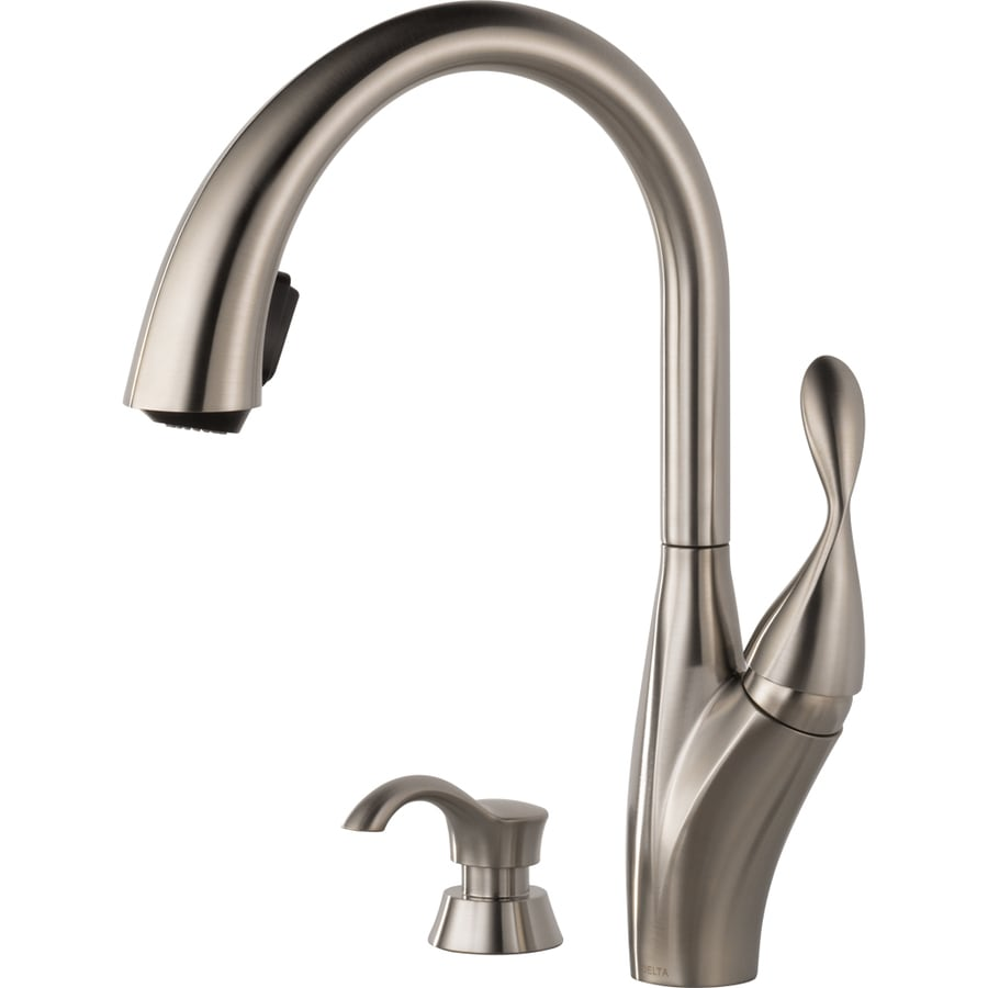 Delta Berkley Stainless 1-Handle Pull-Down Kitchen Faucet