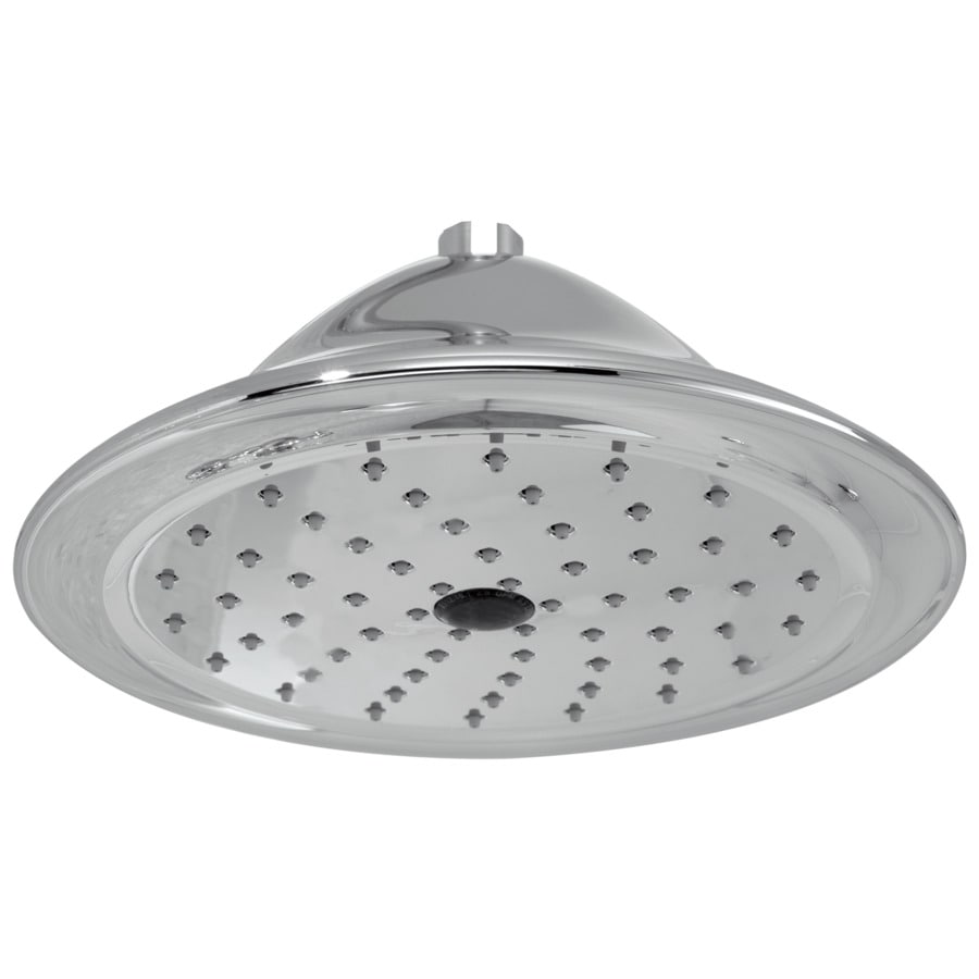 Delta Cassidy 9.375-in 2.5-GPM (9.5-LPM) Chrome 1-Spray Rain Showerhead