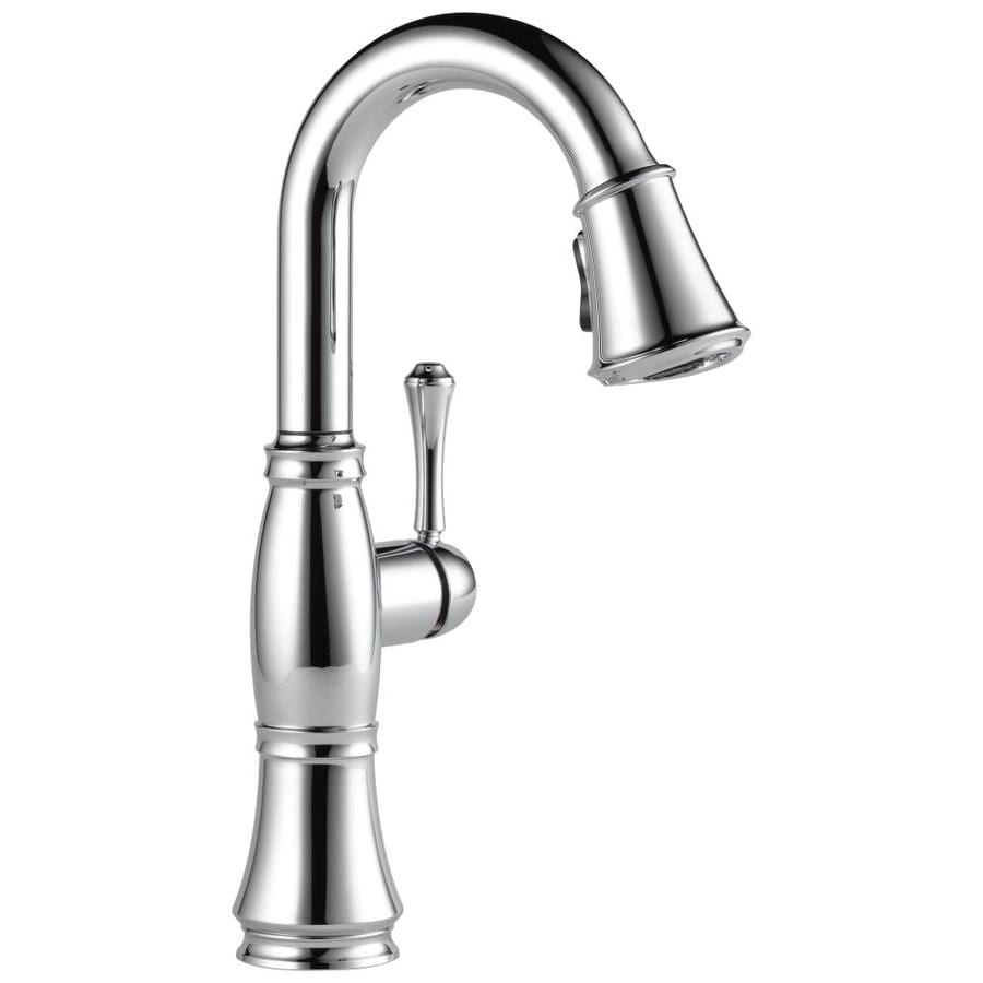 Delta Cassidy Chrome Bar and Prep Faucet