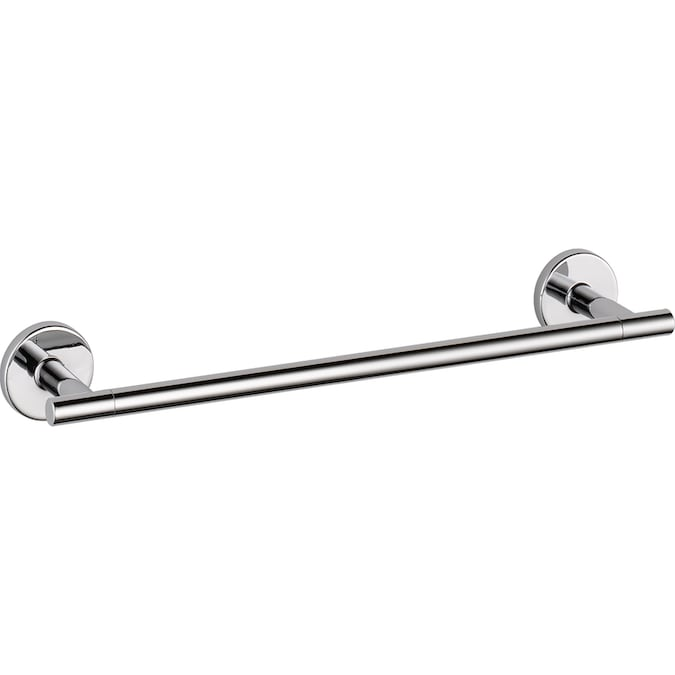 Delta Trinsic 12 In Polished Chrome Wall Mount Single Towel Bar In The Towel Bars Department At Lowes Com