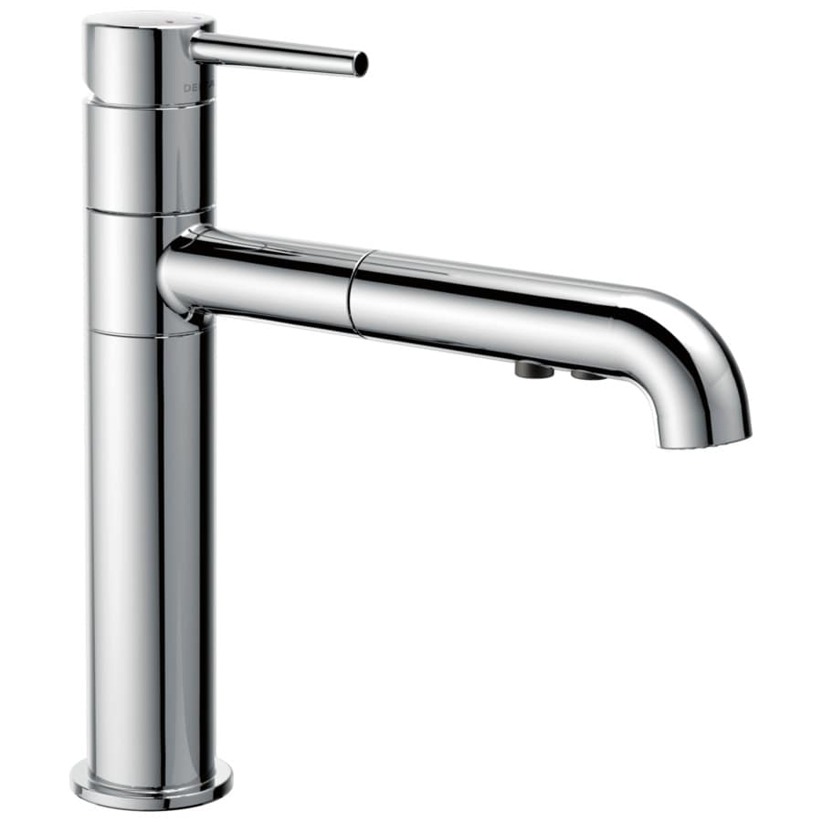 Delta Trinsic Chrome 1-Handle Pull-Out Kitchen Faucet