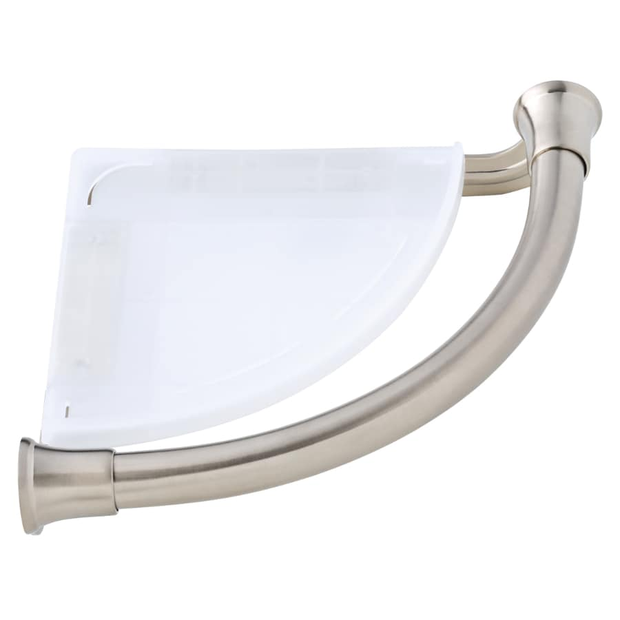 DELTA 9.5-in Brilliance Stainless Steel Wall Mount Grab Bar