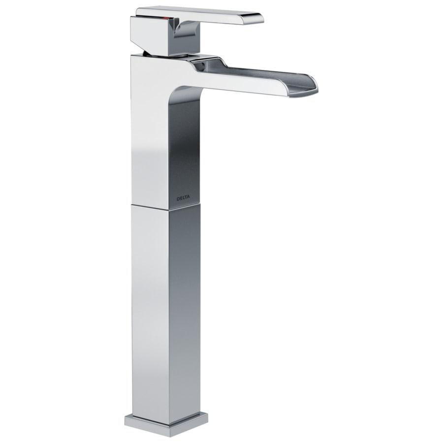 Delta Ara Chrome 1-Handle 4-in Centerset WaterSense Bathroom Faucet