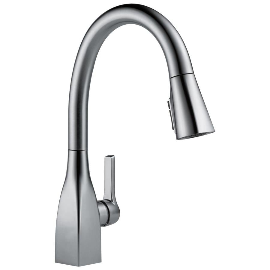 Delta Mateo Arctic Stainless 1-Handle Pull-Down Kitchen Faucet
