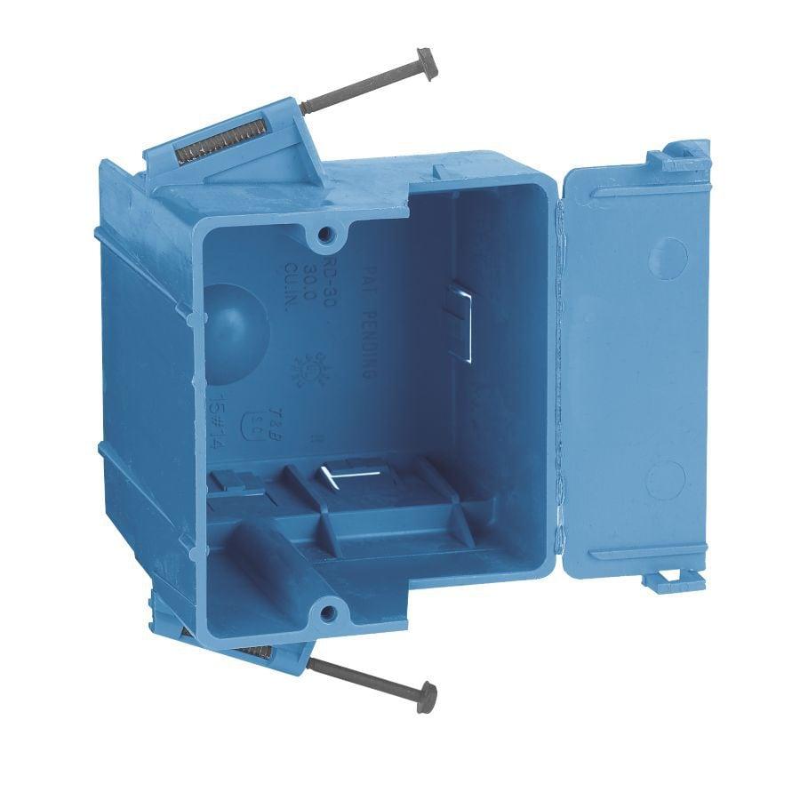 CARLON 30-cu in 1-Gang Plastic New Work Wall Electrical Box