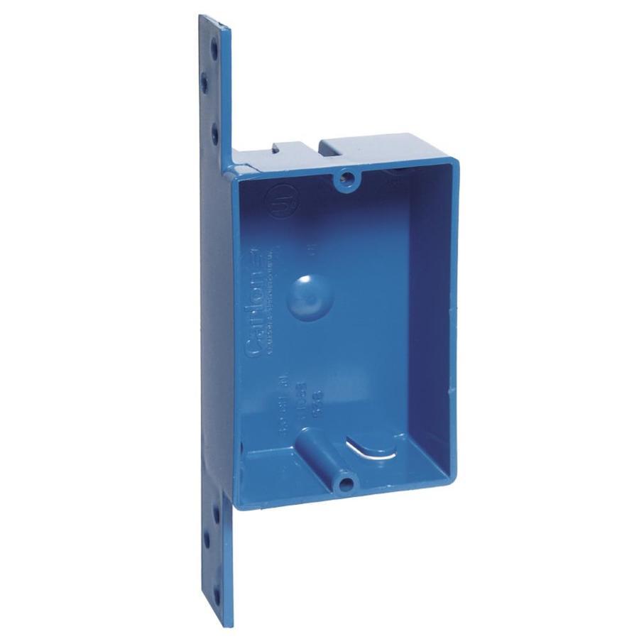 CARLON 8-cu in 1-Gang Plastic New Work Wall Electrical Box